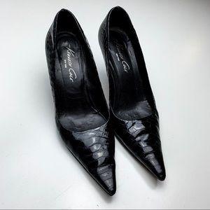 Kenneth Kole | Black Pointy High Heels | 5